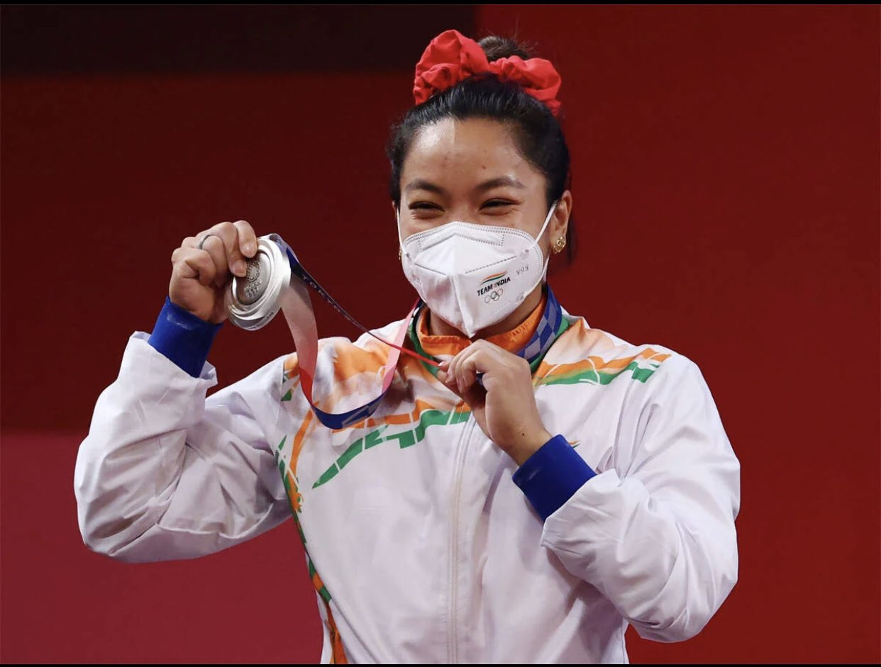 Tokyo olympic 2020, Olympics, games, 2020, Meerabai Chanu , first modern Olympic games, ओलंपिक, Silver Medel in Weight Lifting,