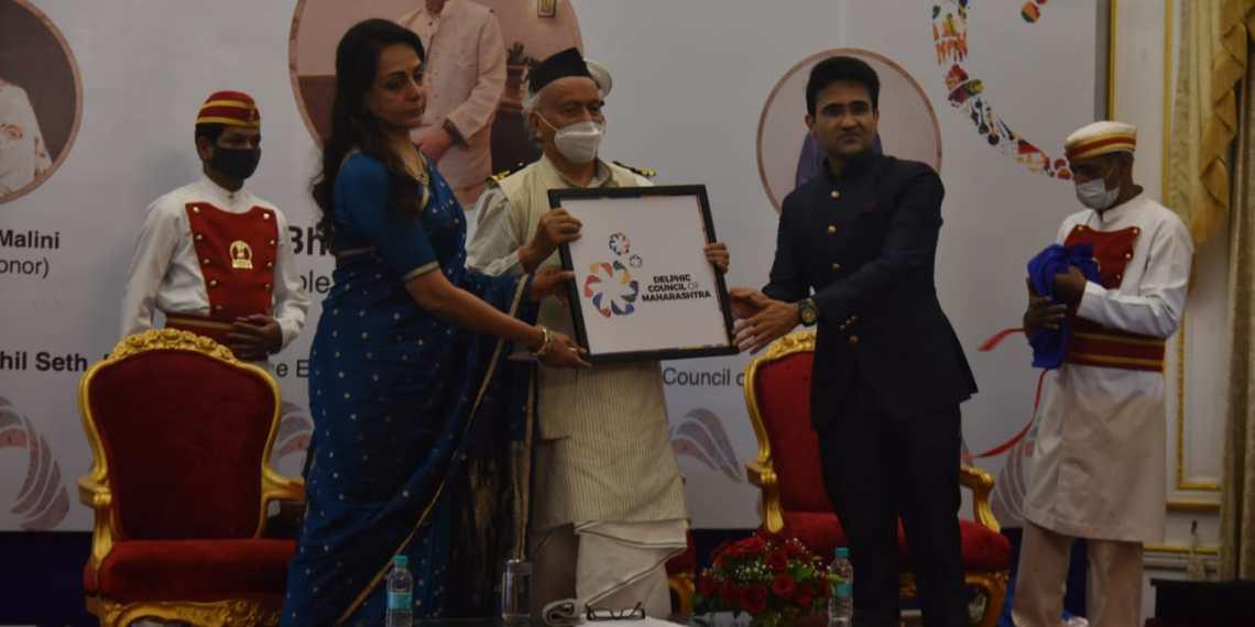The Delphic Council of Maharashtra, Bhagat Koshyari, Raj Bhawan, Global Delphic Movement, Maharashtra, Classical Dance Exponent, Member of Parliament, Hema Malini , National School of Drama, Paresh Rawal,