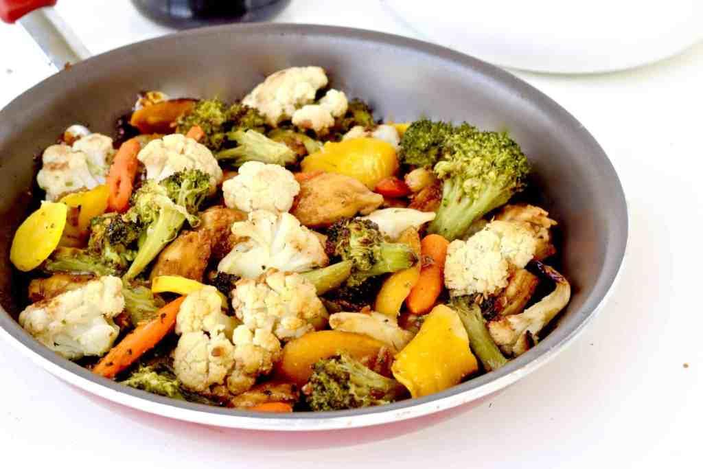 healthy roasted teriyaki vegetables recipe