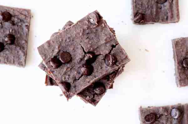 Vegan Black Bean Brownies