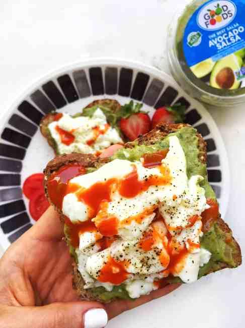 Good foods guacamole healthy snack idea