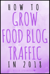 how to grow blog traffic 2018