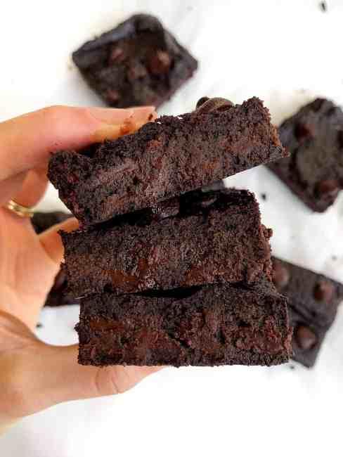 Sweet Potato Flourless Brownies | Dairy Free, Gluten Free + Paleo