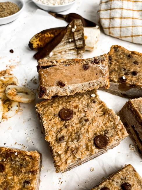 Healthy No Sugar Added Ice Cream Sandwiches | Dairy-Free