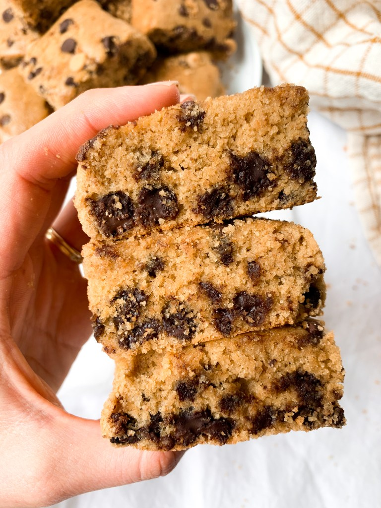 Healthy Peanut Butter Snack Cake