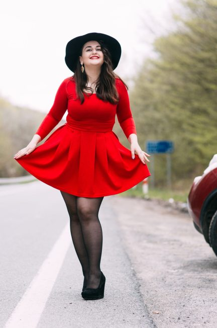 plus-size Valentine's Day outfit ideas