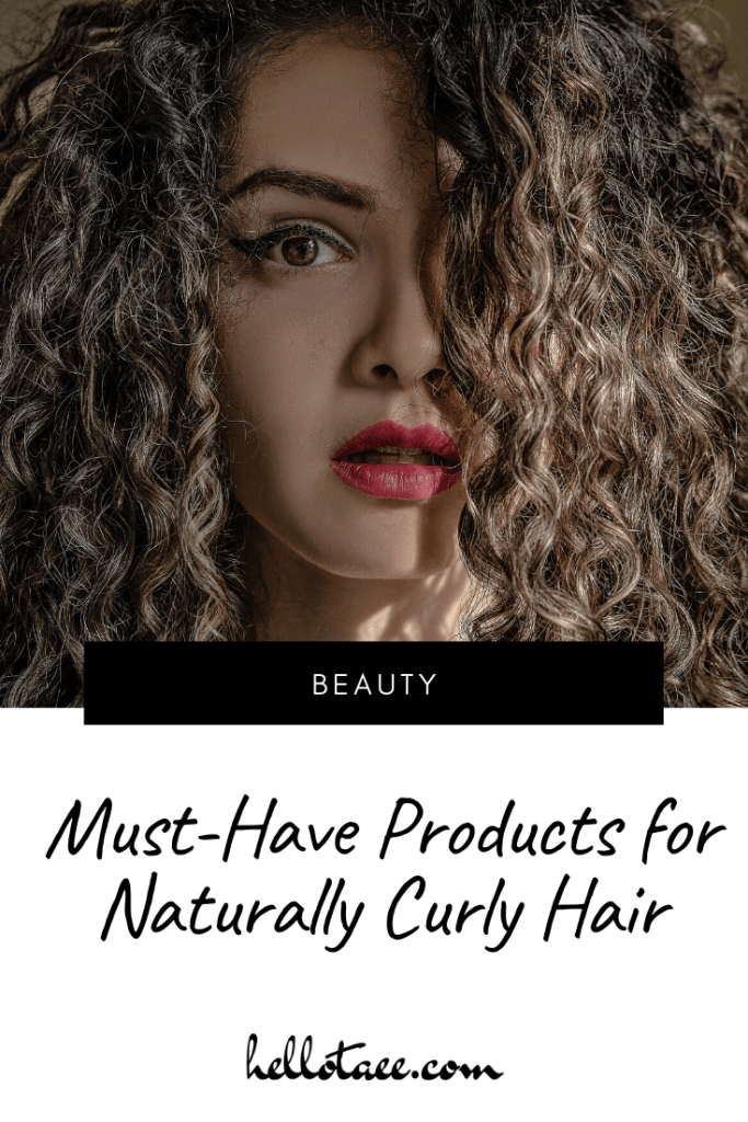 Pin for must-have products for naturally curly hair