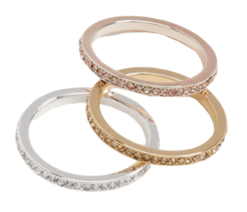 costume jewelry plus size rings