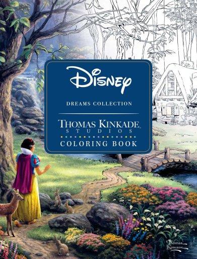 Thomas Kinkade Disney Dreams Coloring Book