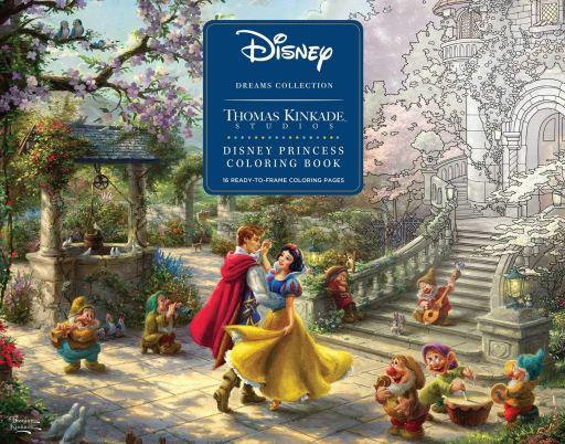 Disney Princess Coloring Poster Book