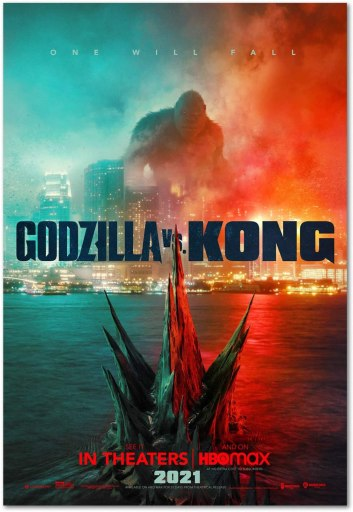 Godzilla vs. Kong Official Movie Poster
