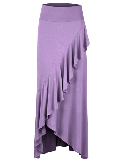 Lock and Love Wrapped Maxi Skirt | XS-3X