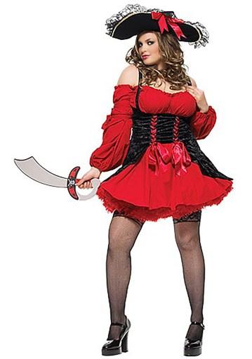 sexy vixen pirate costume