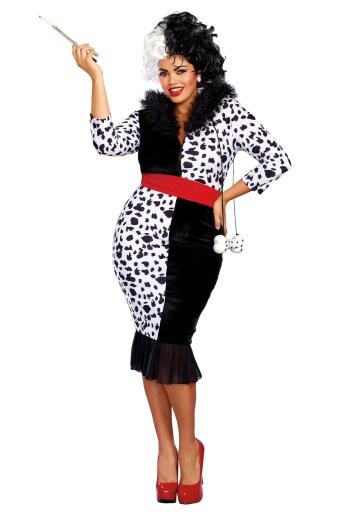 Dalmatian Diva Costume