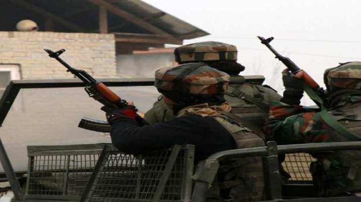 Three militants gunned down by security forces in Shangus area of Anantnag South Kashmir 1