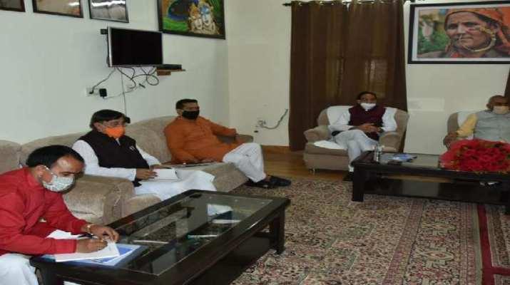 भाजपा कोर कमेटी की बैठक, लिए गए कई अहम निर्णय 1