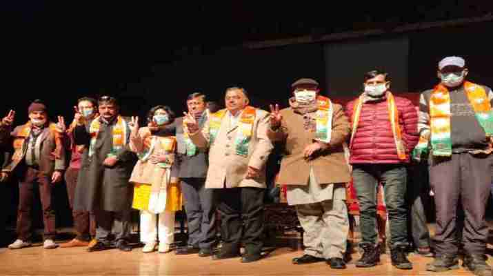 J&K: BJP facilitated newly elected representatives, vowed to work for development in region, Was victory of trust and commitment: Chugh 1