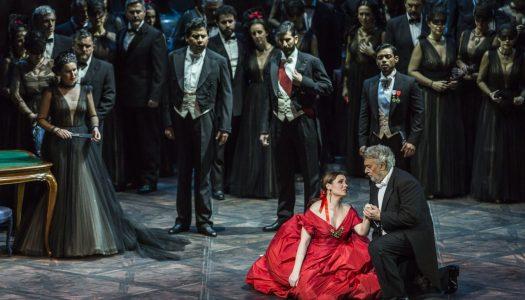 Plácido Domingo y Valentino, estrellas de 'La Traviata' en Les Arts