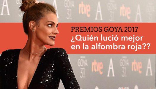 Premios Goya 2017, ¿quién fue tu preferida?