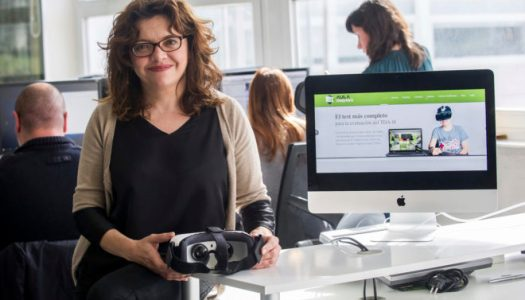 """Gema Climent: """"La realidad virtual es una tecnología que te acerca a los demás"""""""