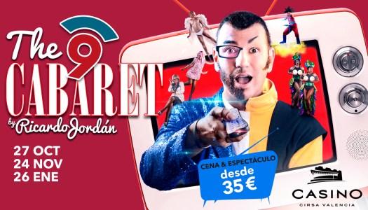 The NOU Cabaret, el nuevo espectáculo de Ricardo Jordán en Casino Cirsa Valencia