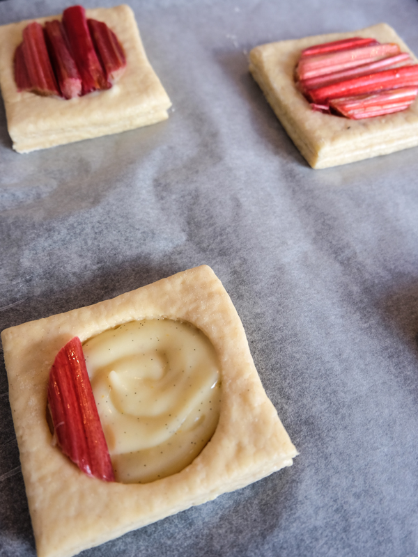 Rhubarb and custard danish | Hello Victoria