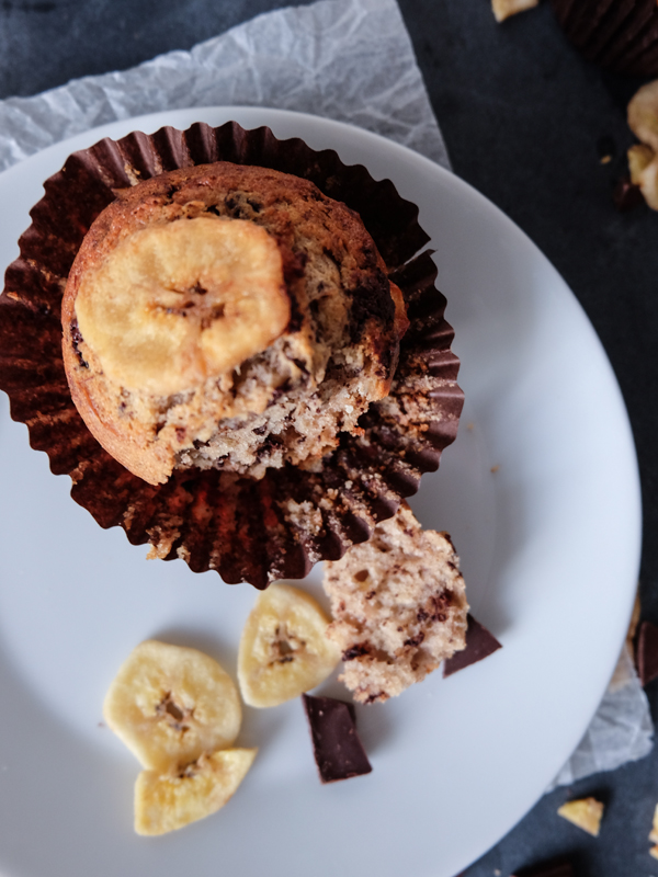 Chocolate banana muffin recipe | Hello Victoria