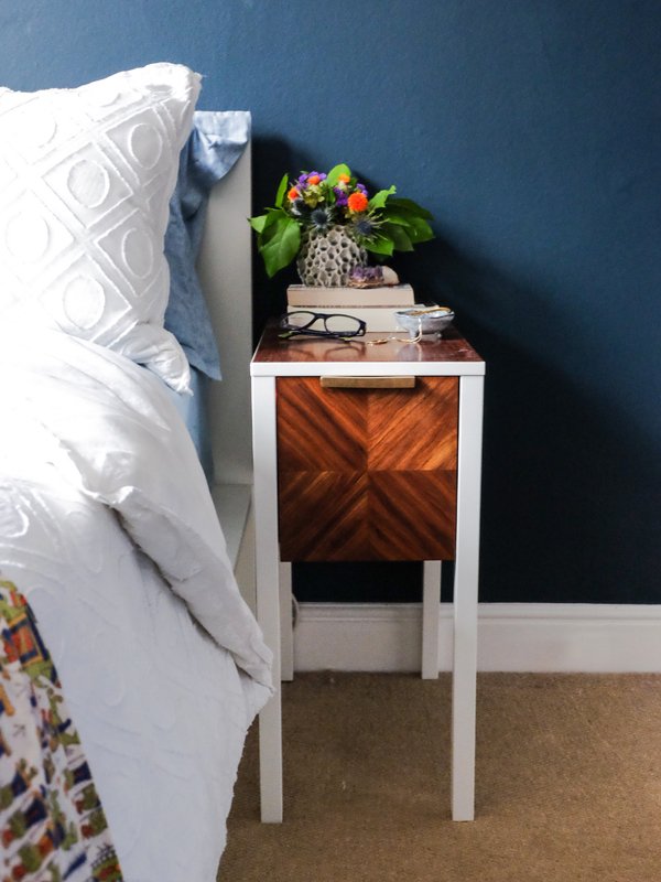 IKEA hack: NORDLI side table | Hello Victoria