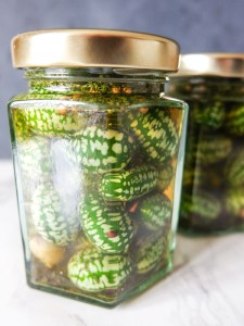 Pickled cucamelons | Hello Victoria