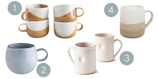 Speckled mugs | Hello Victoria