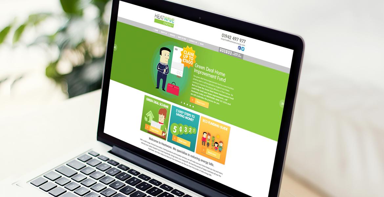 Heatwave new website development, design and build