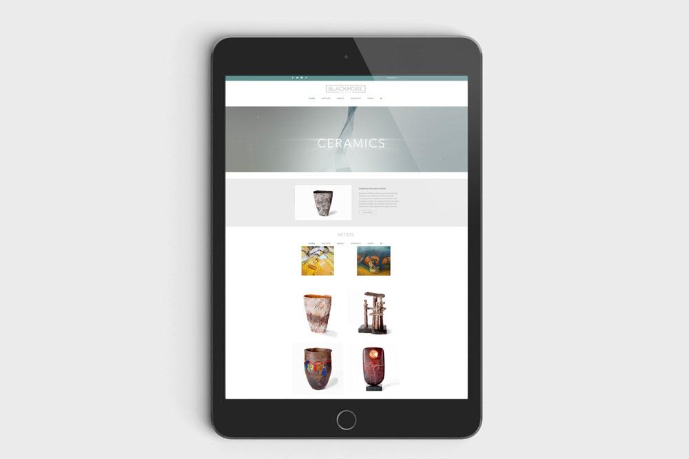 Blackmore_Gallery website iPad