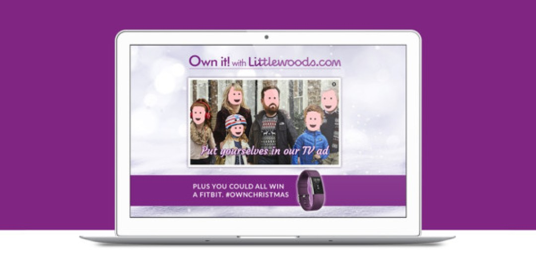Littlewoods Own Christmas Microsite