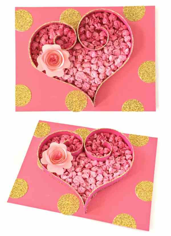 TISSUE PAPER HEART CRAFT: CUTE VALENTINE'S DAY ART PROJECT