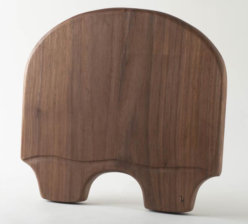 Turtle Charcuterie board, in walnut