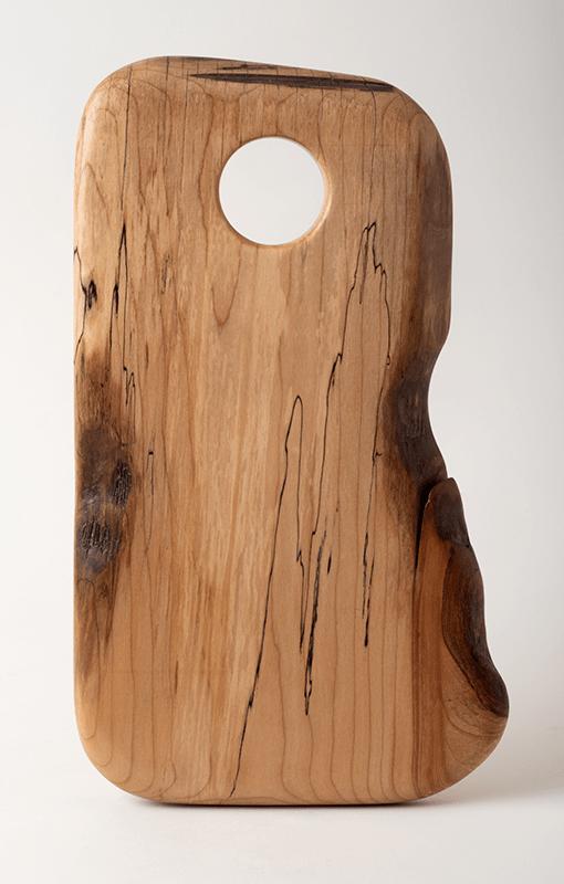 Sandwich board (small), in birch with live edge