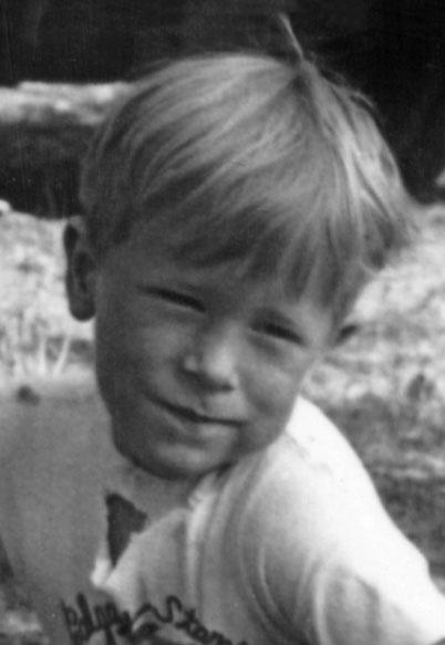 Me, aged 4
