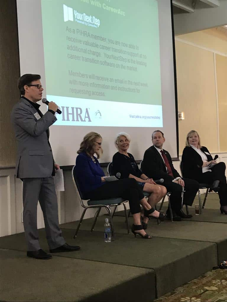 Professionals In Human Resources Association Featured Speaker Andrew H. Friedman.