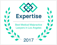 Helmer Friedman LLP named Top Medical Malpractice Lawyers of Los Angeles.