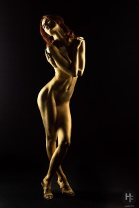 """Sample from my latest shoot called """"Golden Girl"""". Nude art"""