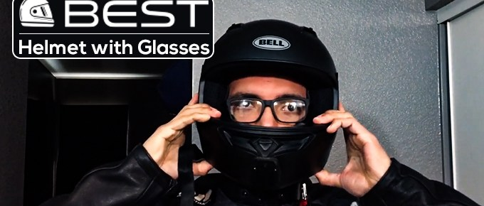 Best Motorcycle Helmet with Glasses