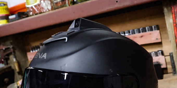 Motorcycle Helmet with Camera Review