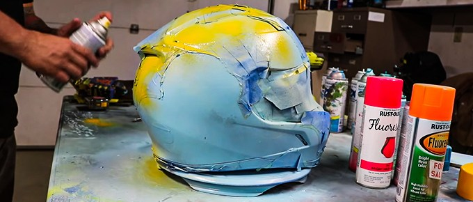 What Kind of Paint To Use On Motorcycle Helmet