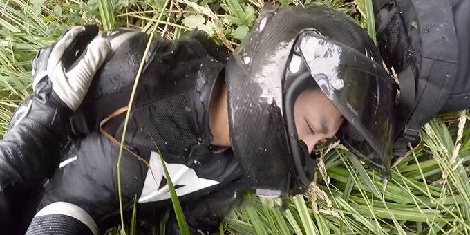 Can Motorcycle Helmets Be Used After an Accident