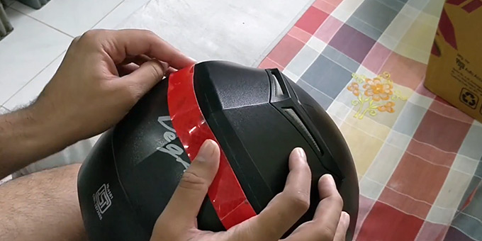 What is a Reflective Tape for Motorcycle Helmets