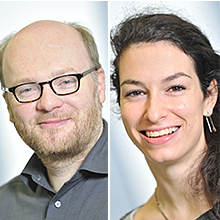 Dr. Andreas Moosmann and Dr. Chiara Rancan