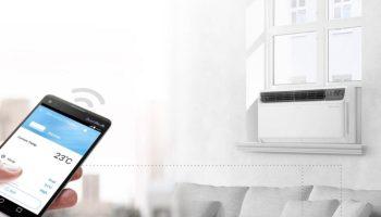 LG Dual Inverter Window Air Conditioner Unit 9500 BTU