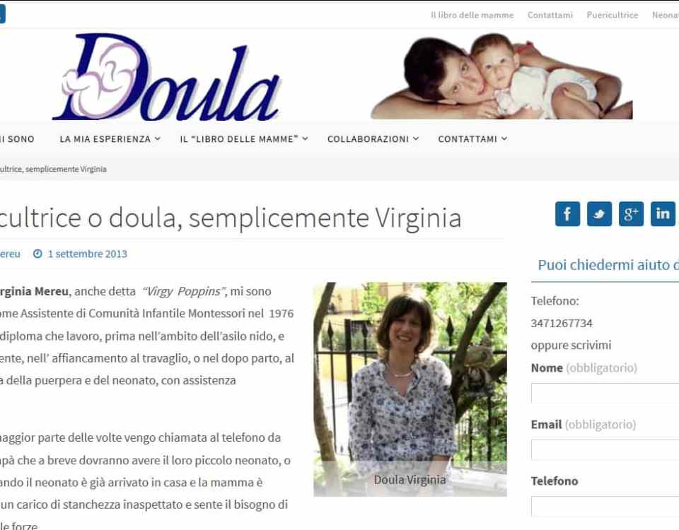 Doula o puericultrice
