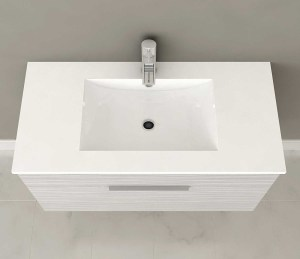 Cutler Floating Vanity Overhead
