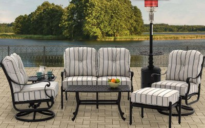 Choosing a freestanding patio heater for an open, uncovered patio.